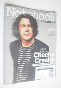 Notebook magazine - Alan Davies cover (23 February 2014)