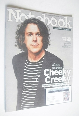 <!--2014-02-23-->Notebook magazine - Alan Davies cover (23 February 2014)