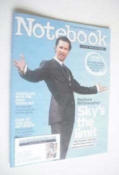 Notebook magazine - Matthew McConaughey cover (2 March 2014)