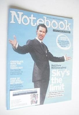 <!--2014-03-02-->Notebook magazine - Matthew McConaughey cover (2 March 201