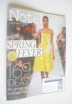 Notebook magazine - Spring Fashion cover (9 March 2014)
