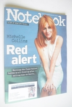 Notebook magazine - Michelle Collins cover (16 March 2014)