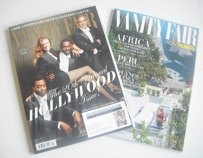 <!--2014-03-->Vanity Fair magazine - The 20th Annual Hollywood Issue cover