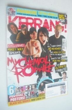 <!--2014-03-27-->Kerrang magazine - My Chemical Romance cover (27 March 201