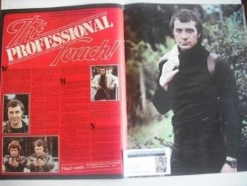 Jackie magazine article (Lewis Collins - November 1978)