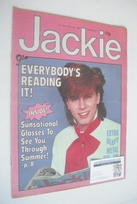<!--1981-07-18-->Jackie magazine - 18 July 1981 (Issue 915 - John Taylor co
