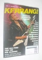 <!--1981-10-->Kerrang magazine - Michael Schenker cover (October 1981 - Issue 4)