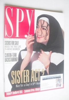 Spy magazine - April 1993 - Michael Jackson cover