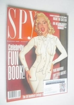 Spy magazine - September 1992 - Madonna cover