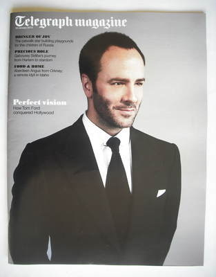 <!--2010-01-16-->Telegraph magazine - Tom Ford cover (16 January 2010)