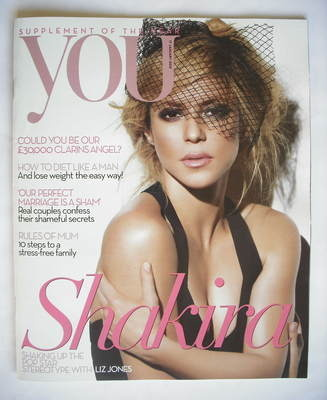 <!--2010-01-17-->You magazine - Shakira cover (17 January 2010)