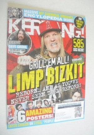 <!--2013-09-14-->Kerrang magazine - Limp Bizkit cover (14 September 2013 -