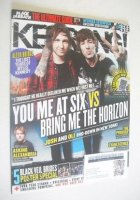 <!--2011-11-26-->Kerrang magazine - Josh Franceschi and Oli Sykes cover (26 November 2011 - Issue 1391)