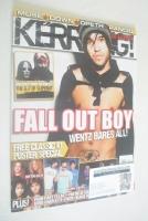 <!--2008-04-26-->Kerrang magazine - Pete Wentz cover (26 April 2008 - Issue 1207)