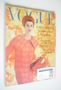 British Vogue magazine - February 1959 (Vintage Issue)