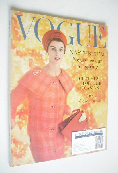 <!--1959-02-->British Vogue magazine - February 1959 (Vintage Issue)