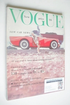 British Vogue magazine - November 1959 (Vintage Issue)