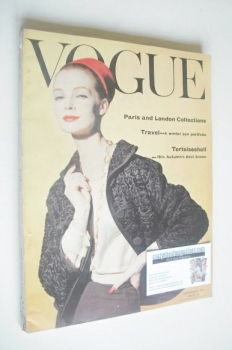 British Vogue magazine - September 1959 (Vintage Issue)