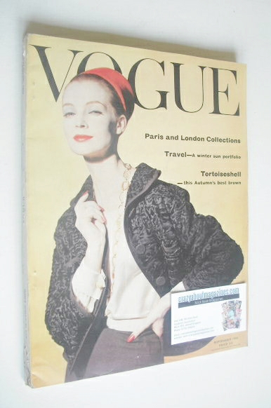 <!--1959-09-->British Vogue magazine - September 1959 (Vintage Issue)