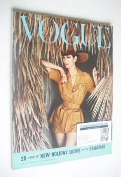 British Vogue magazine - July 1959 (Vintage Issue)