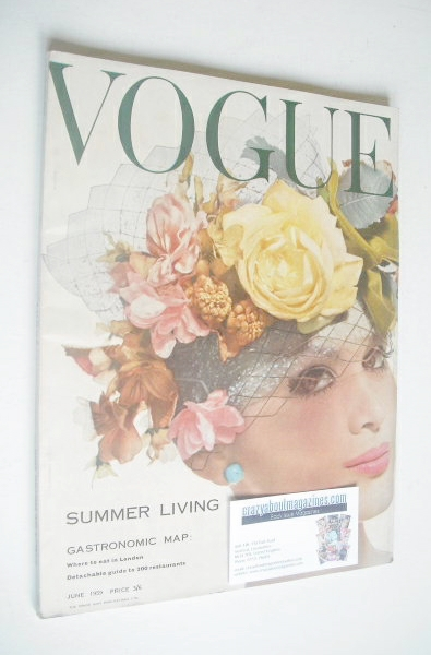 <!--1959-06-->British Vogue magazine - June 1959 (Vintage Issue)