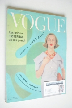 British Vogue magazine - May 1959 (Vintage Issue)