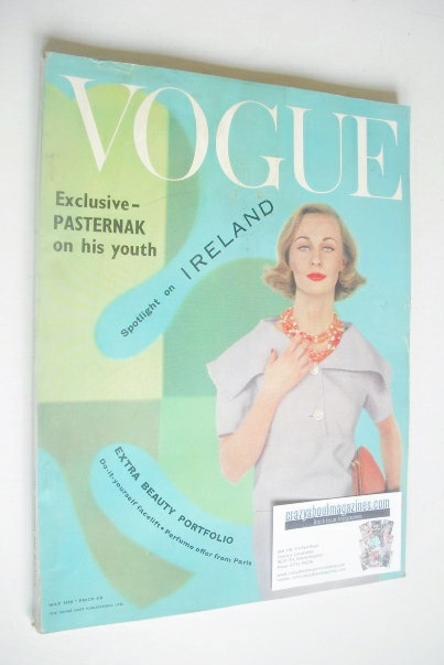 <!--1959-05-->British Vogue magazine - May 1959 (Vintage Issue)