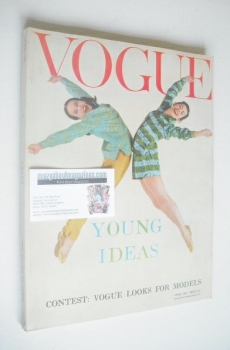 British Vogue magazine - April 1959 (Vintage Issue)