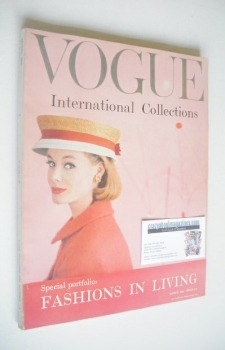 British Vogue magazine - March 1959 (Vintage Issue)
