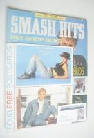<!--1989-07-12-->Smash Hits magazine - Pet Shop Boys cover (12-25 July 1989)