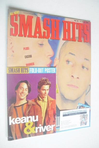 <!--1992-04-01-->Smash Hits magazine - Right Said Fred (1-14 April 1992)