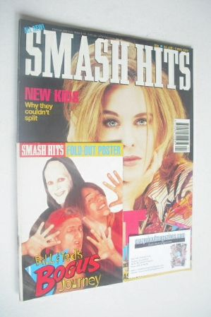 <!--1992-01-22-->Smash Hits magazine - Kylie Minogue cover (22 January - 3