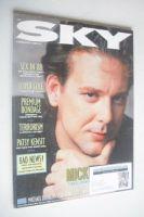 <!--1988-02-->Sky magazine - Mickey Rourke cover (February 1988)