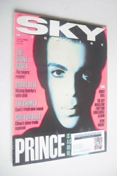 Sky magazine - Prince cover (July 1990)