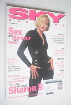 Sky magazine - Sharon Stone cover (May 1994)