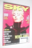 <!--1990-12-->Sky magazine - Wendy James cover (Christmas 1990)