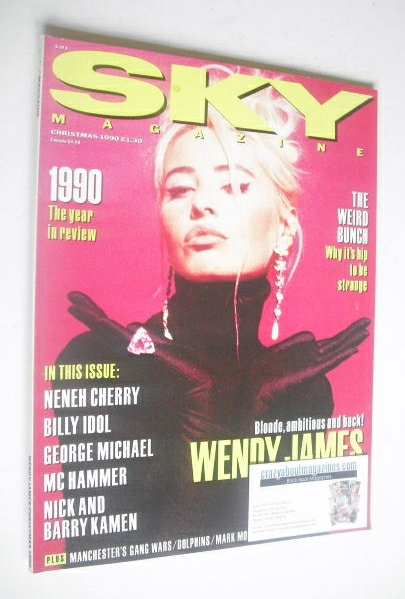 <!--1990-12-->Sky magazine - Wendy James cover (Christmas 1990)