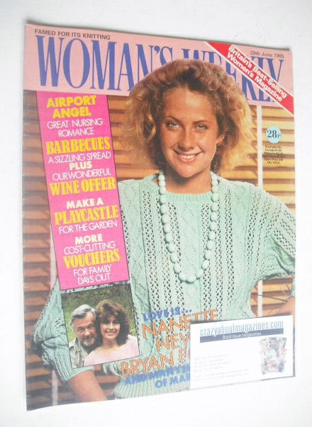 <!--1985-06-29-->Woman's Weekly magazine (29 June 1985 - British Edition)