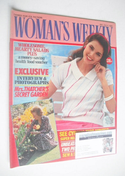 <!--1985-07-06-->Woman's Weekly magazine (6 July 1985 - British Edition)