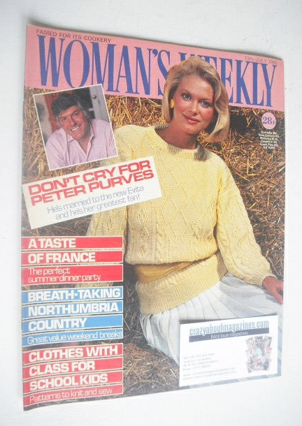 <!--1985-07-13-->Woman's Weekly magazine (13 July 1985 - British Edition)