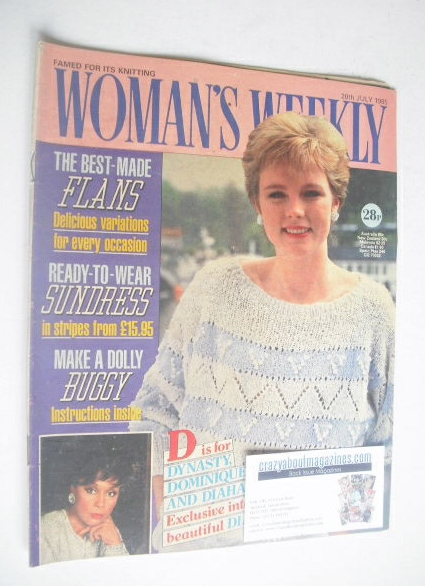 <!--1985-07-20-->Woman's Weekly magazine (20 July 1985 - British Edition)