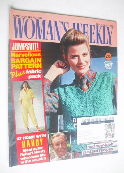 <!--1985-08-17-->Woman's Weekly magazine (17 August 1985)