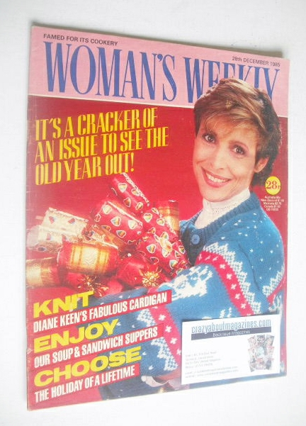 <!--1985-12-28-->Woman's Weekly magazine (28 December 1985 - British Editio