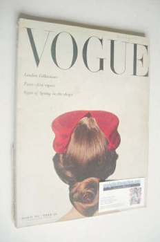 British Vogue magazine - March 1951 (Vintage Issue)