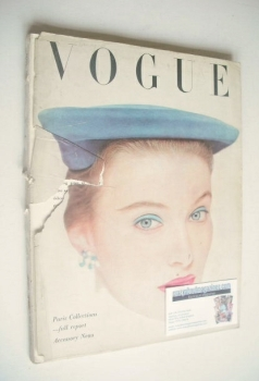 British Vogue magazine - April 1951 (Vintage Issue)