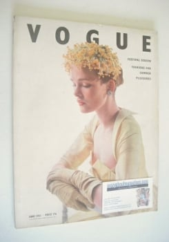 British Vogue magazine - June 1951 (Vintage Issue)