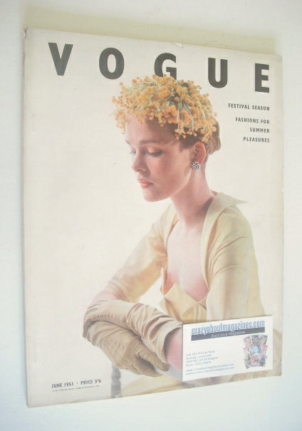<!--1951-06-->British Vogue magazine - June 1951 (Vintage Issue)