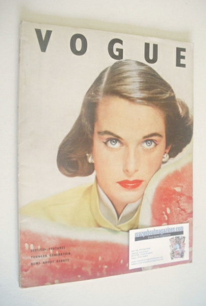 <!--1951-08-->British Vogue magazine - August 1951 (Vintage Issue)