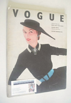 British Vogue magazine - November 1951 (Vintage Issue)