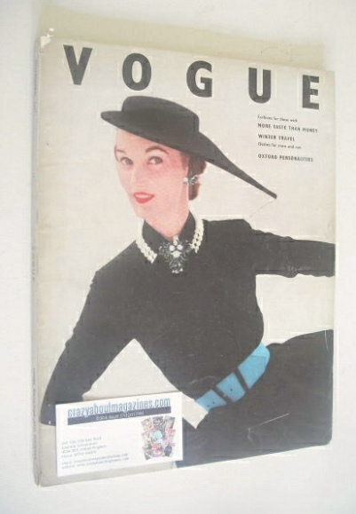 <!--1951-11-->British Vogue magazine - November 1951 (Vintage Issue)